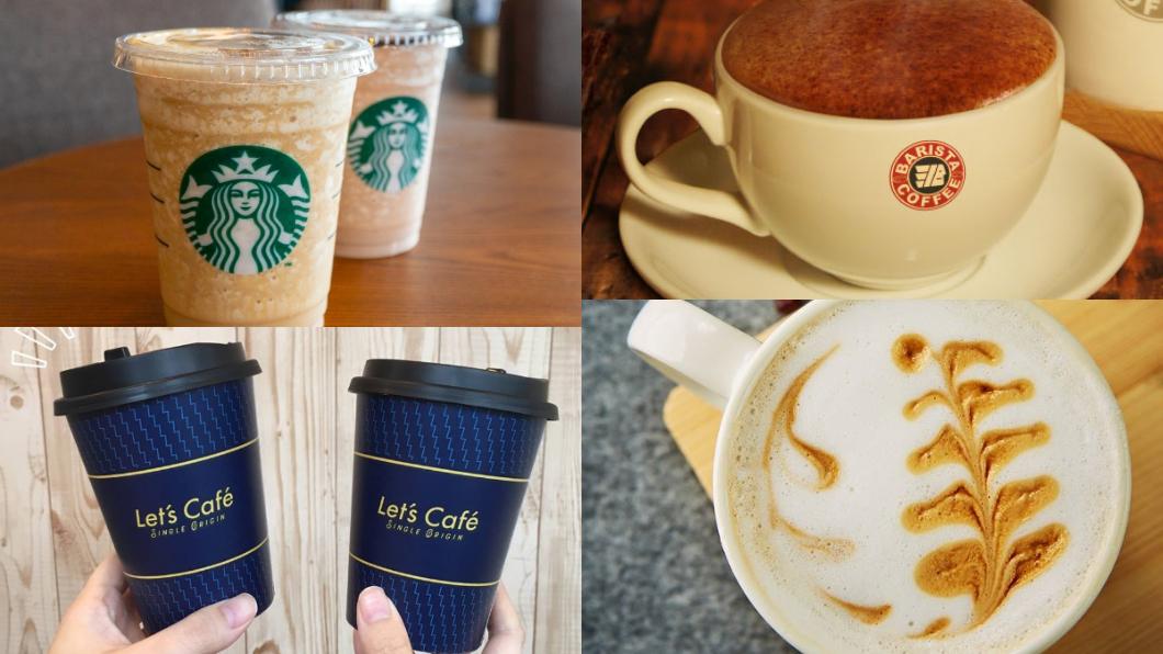 合成圖/TVBS資料照與翻攝臉書 先筆記!週六補班不鬱卒 咖啡「買1送1」優惠總整理