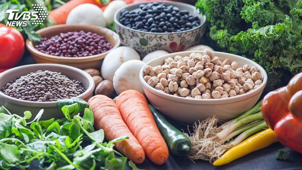 示意圖/TVBS 為地球和人類健康 肉糖攝取應減半蔬果量加倍