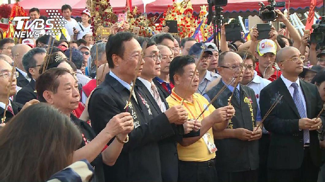 圖/TVBS 張忠謀、郭台銘都來拜 大老闆最愛的4間求財廟