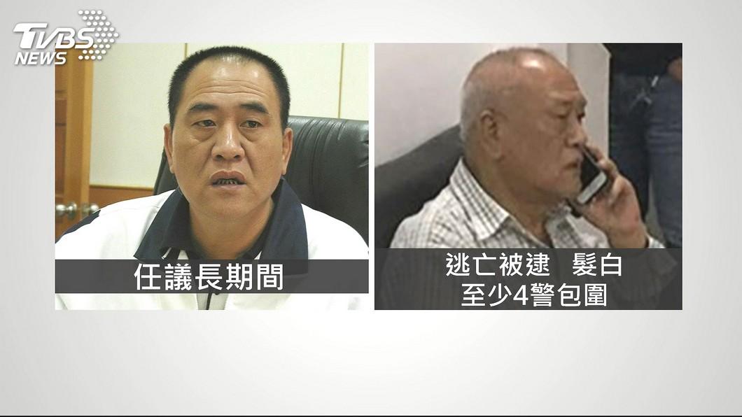 圖/TVBS 快訊/前南縣議長吳健保潛逃菲國 上午遭遣返