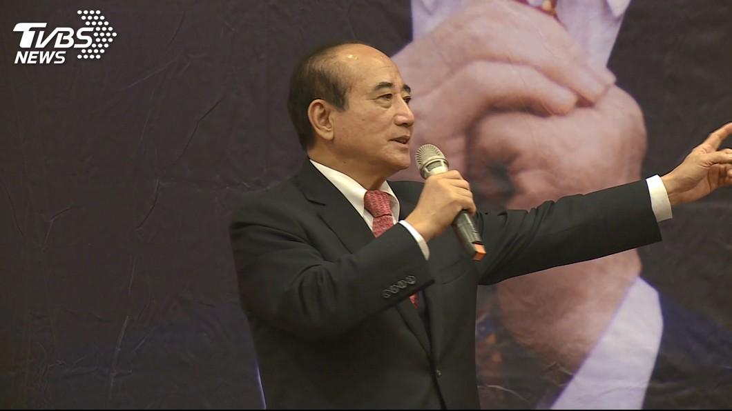 圖/TVBS 馬王破冰!登門送新書 王金平:與馬英九互動愉快