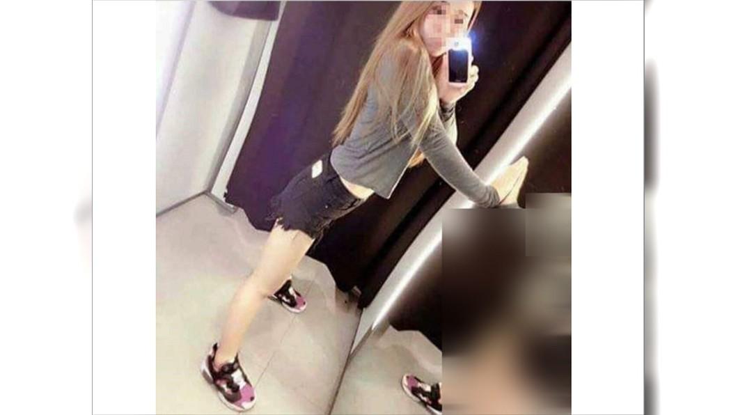 圖/翻攝臉書爆笑公社 辣妹大露水蛇腰!卻被「鏡中倒影」出賣 網嚇傻:修很大