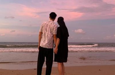 吳尊與老婆的戀情像童話般浪漫。圖/翻攝自微博