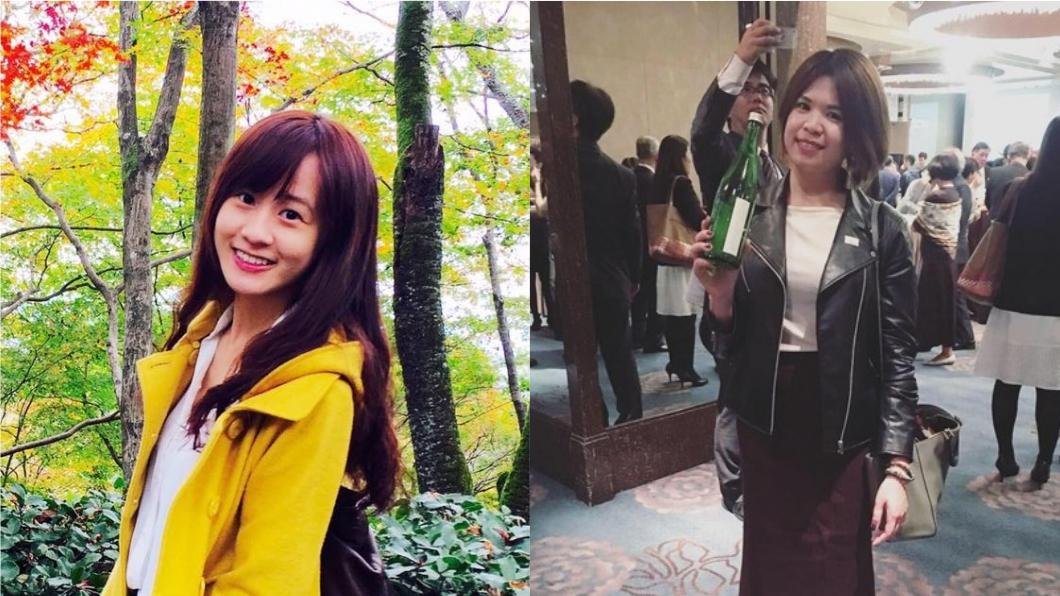 總統府發言人林鶴明表示,目前總統的臉書主要由翊婷(左)與思吟(右)負責。圖/翻攝自臉書