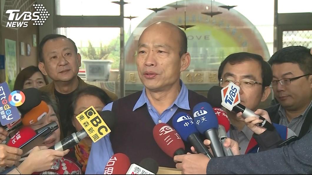 圖/TVBS資料畫面 稱高雄市長「能做的都做完了」!名嘴挺韓選總統挨罵了