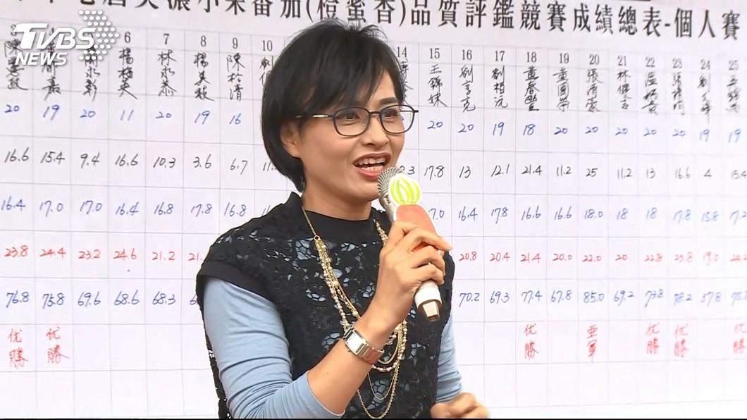 邱議瑩不畏選舉壓力霸氣挺同婚。圖/TVBS 邱議瑩霸氣挺同婚 喊話:做不做立委沒什麼了不起