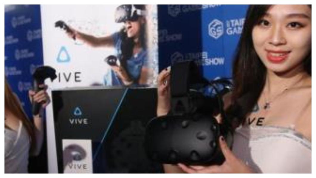 相中體感科技的熱潮,宏達電(HTC)去年宣布投入前瞻計畫,與高雄市政府攜手打造KosmoSpot x VIVELAND體感樂園,將輔助VR與體感科技新創團隊,建構體感產業新生態系,發展高雄成為台灣體感科技產業聚落。   圖/中央社