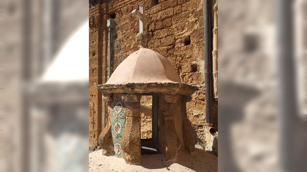 小鎮上的建築充滿阿拉伯風情。(圖/翻攝自Giuseppe Cacioppo 臉書)