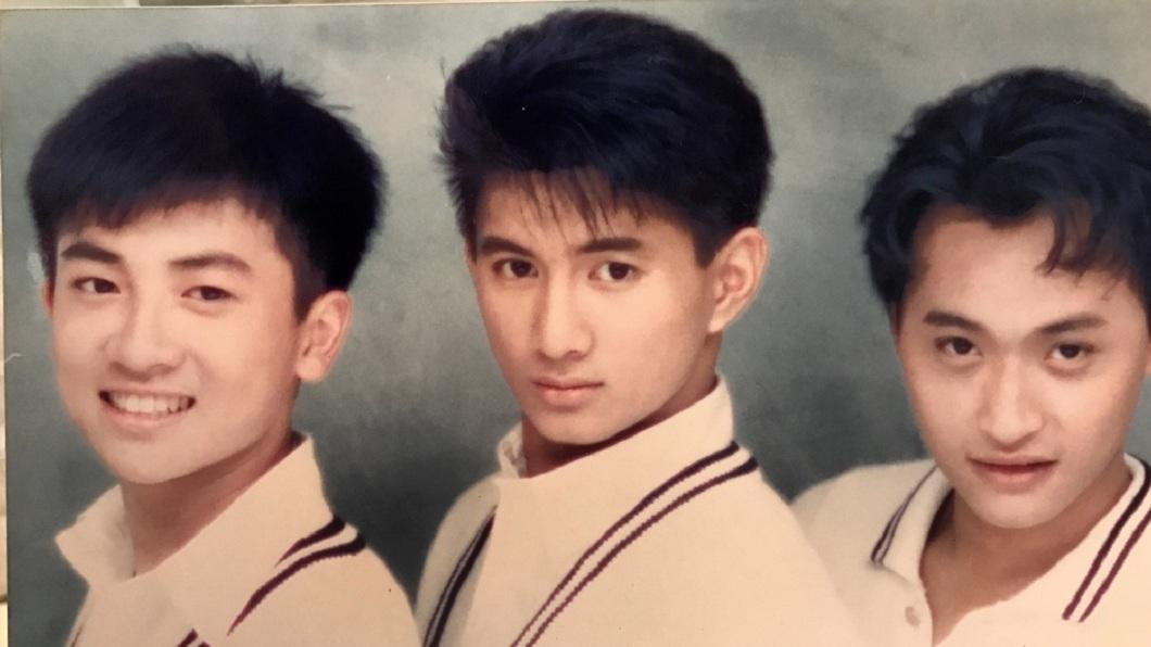 當年小虎隊的宣傳照片。(圖/翻攝自微博)