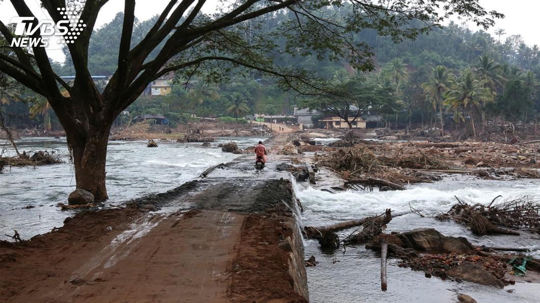 圖/達志影像路透社 印度暖化快速 2040年恐將面臨重災