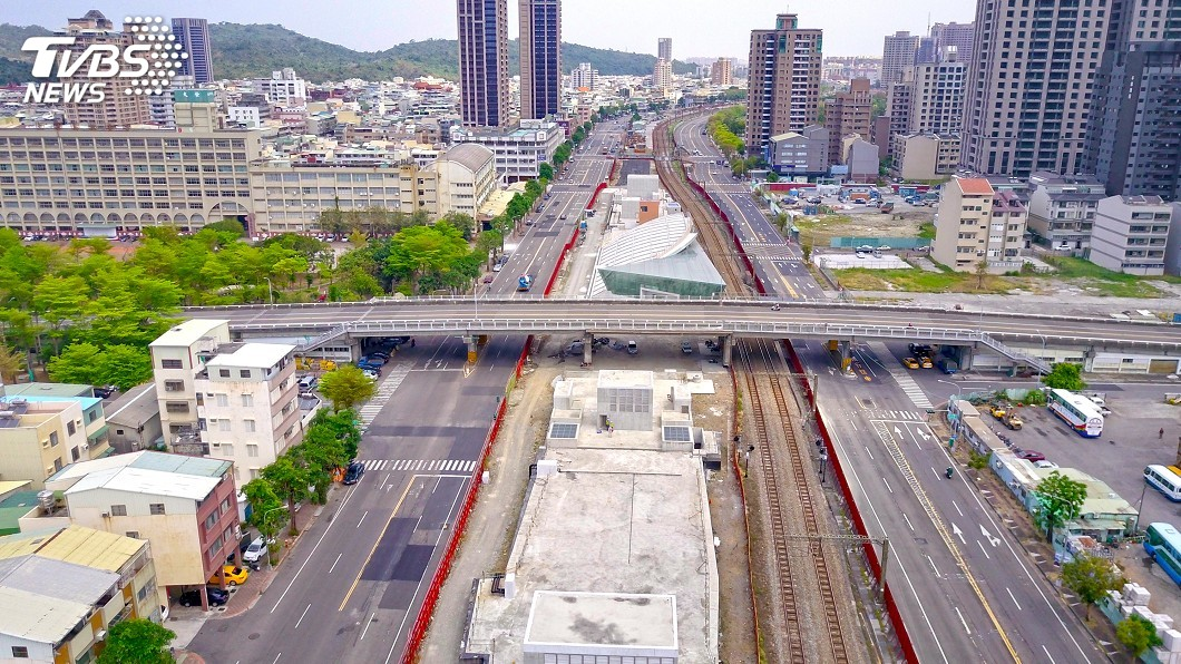 圖/中央社 鐵路地下化後功成身退 高市8座橋隧將拆除