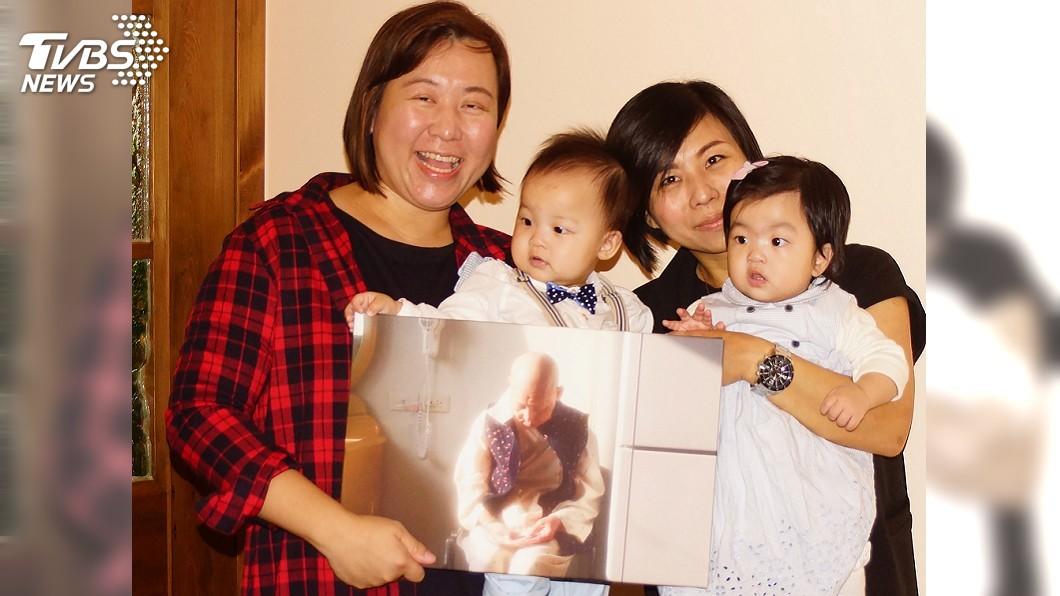 圖/中央社 鏡頭記錄母親抗癌點滴 護理師分享心路歷程