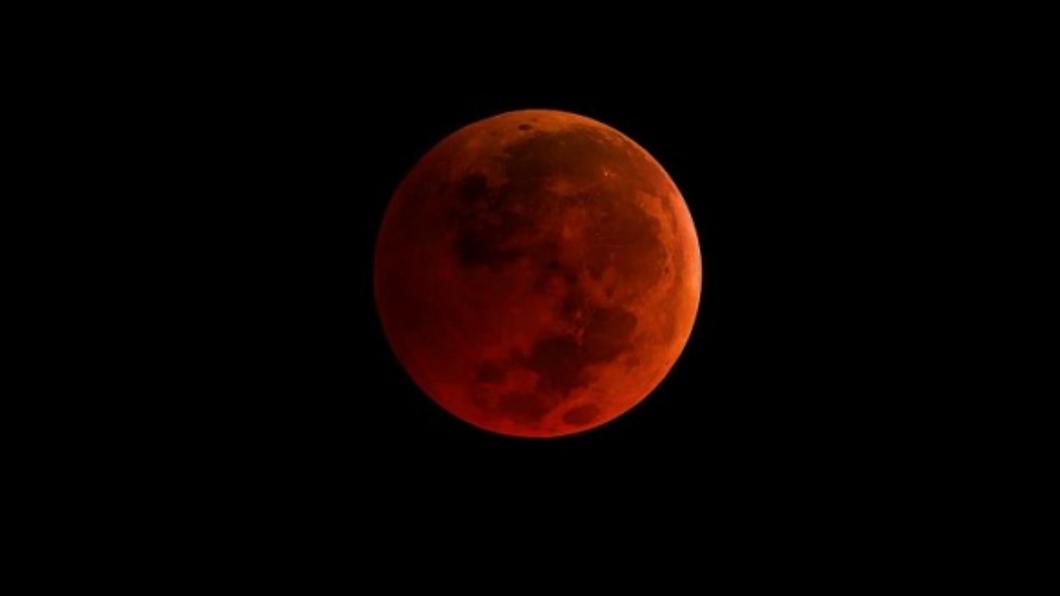 超級血月將於5月26日現身。(圖/翻攝自 NASA官網) 罕象超級血月要來了!昔出現「3百人葬海底」高掛時間曝