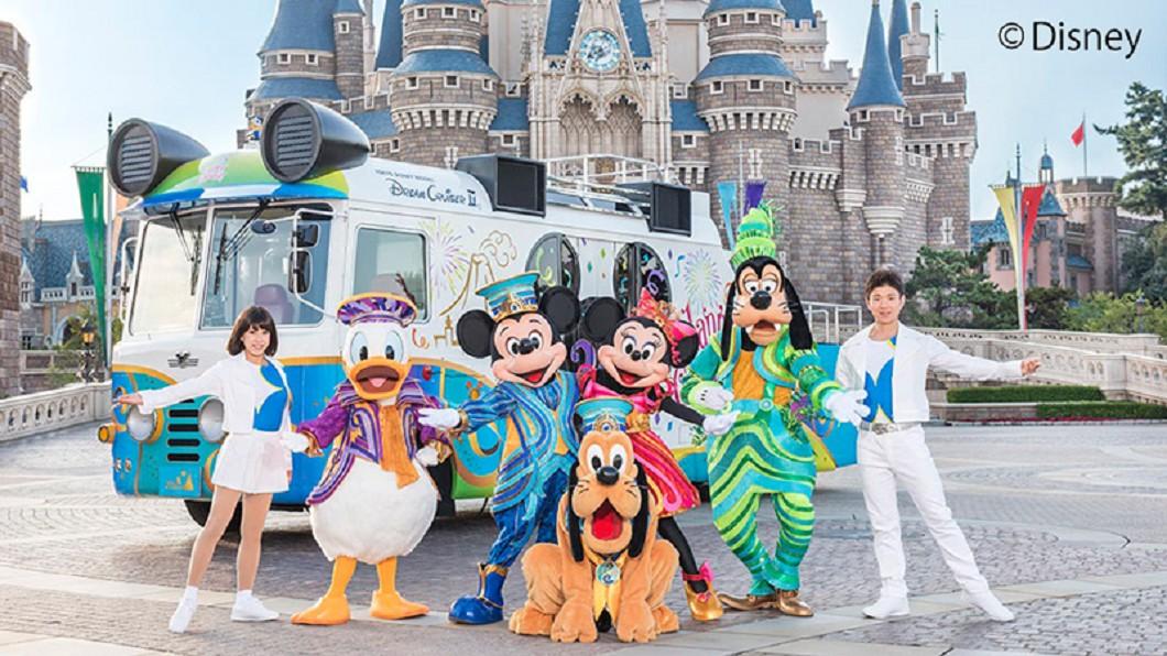 歡慶東京迪士尼開園35週年,迪士尼宣布參與2019台北燈節,傳遞歡樂氣息。圖/東京迪士尼度假園區 看米奇免出國!歡度35週年 迪士尼遊行現身台北燈節