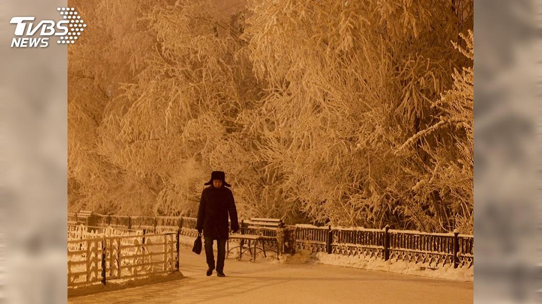 最寒冷城市雅庫次克。圖/達志影像路透社