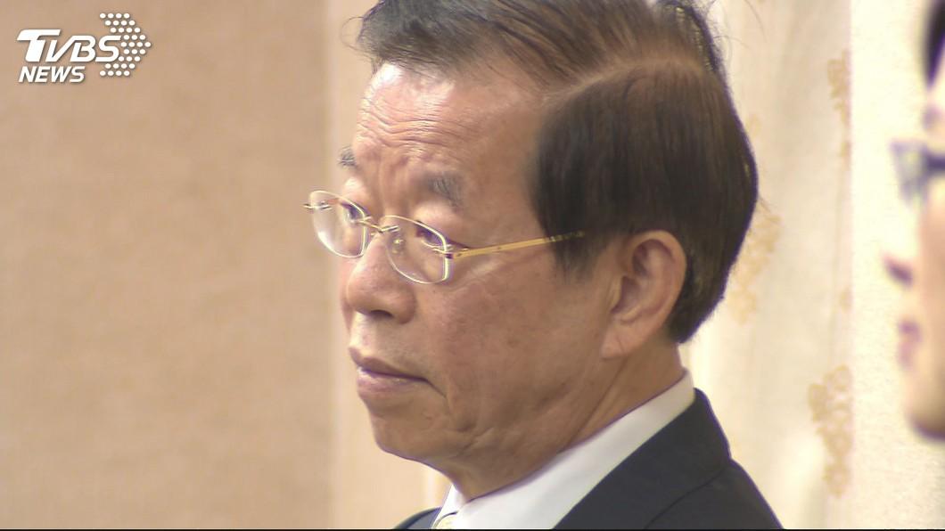 駐日代表謝長廷。圖/TVBS 堅不下台「除非總統開口」 羅智強1句話嗆爆謝長廷