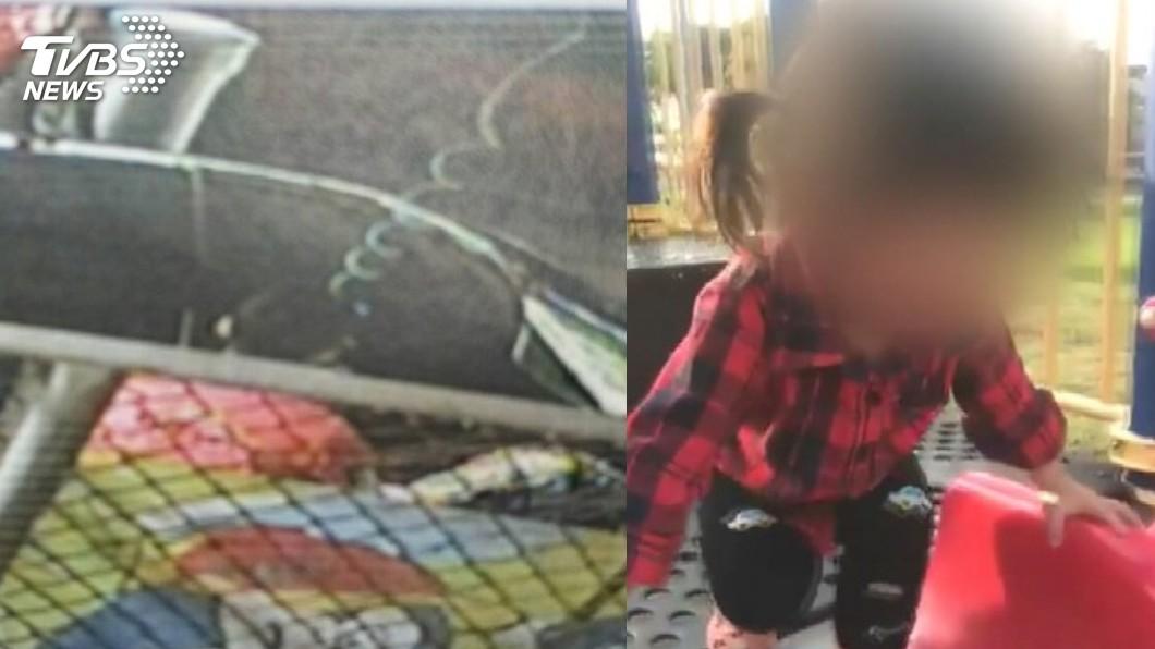 3歲女童噴槍案,疑點重重!圖/TVBS 異常冷靜?噴槍案3歲女在急救時 爸卻到台南訪友