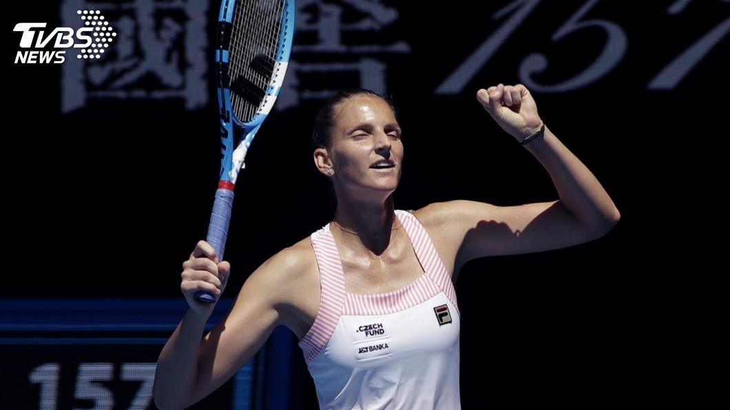 圖/達志影像美聯社 普里斯科娃擊敗小威廉絲 晉級澳網女單4強