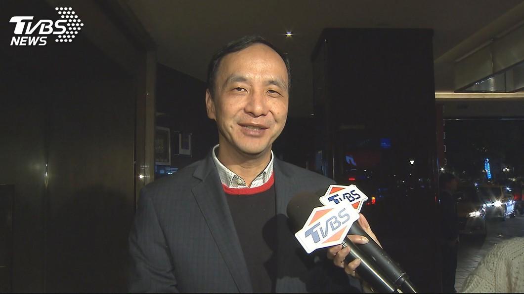 圖/TVBS 降低政治味 朱立倫14日訪美不到美東