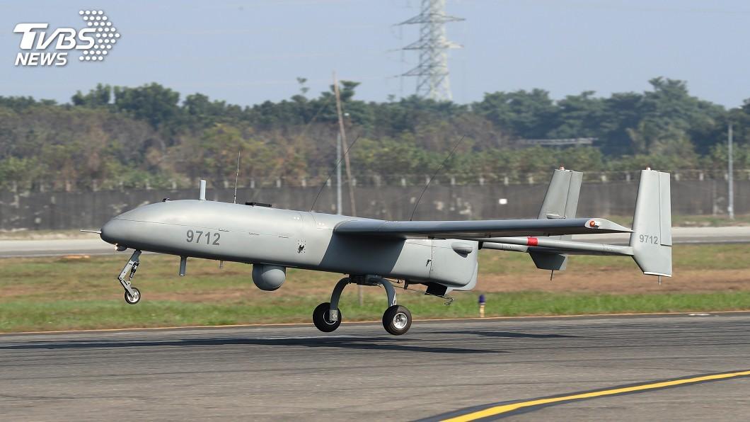 圖/中央社 強化海域偵監能力 銳鳶無人機首度飛行展示