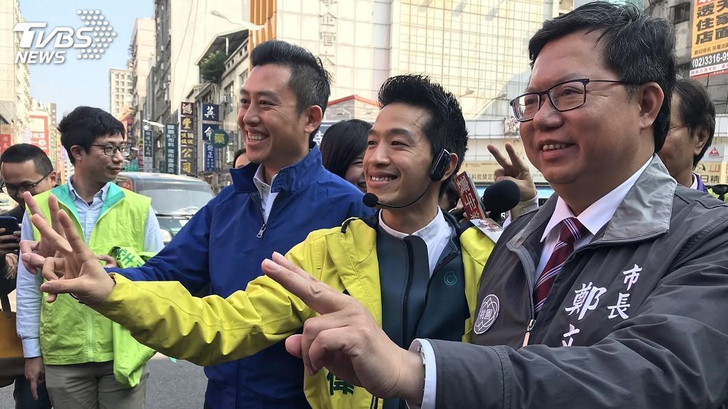 圖/中央社 立委補選熱度升 何志偉:總統陪同非造勢活動