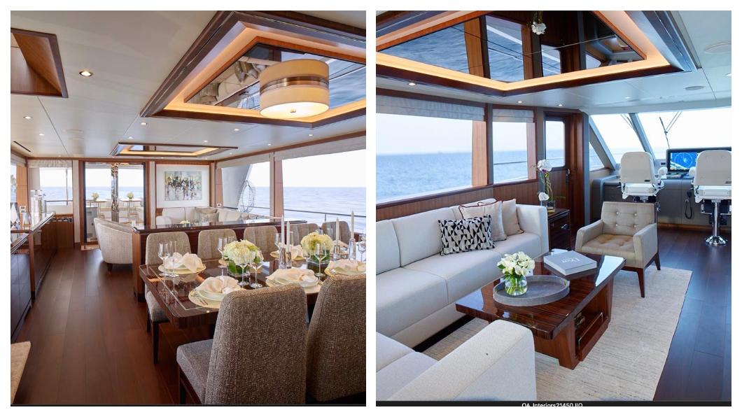 全球千分之一頂級富豪的遊艇休閒生活,精緻奢華,台灣遊艇業者最能體會。名列全球第四的台灣遊艇品牌東哥遊艇,曾為富豪一通電話,便租海上飛機專為富豪遊艇上故障的洗衣機進行免費更換。  圖/東哥遊艇