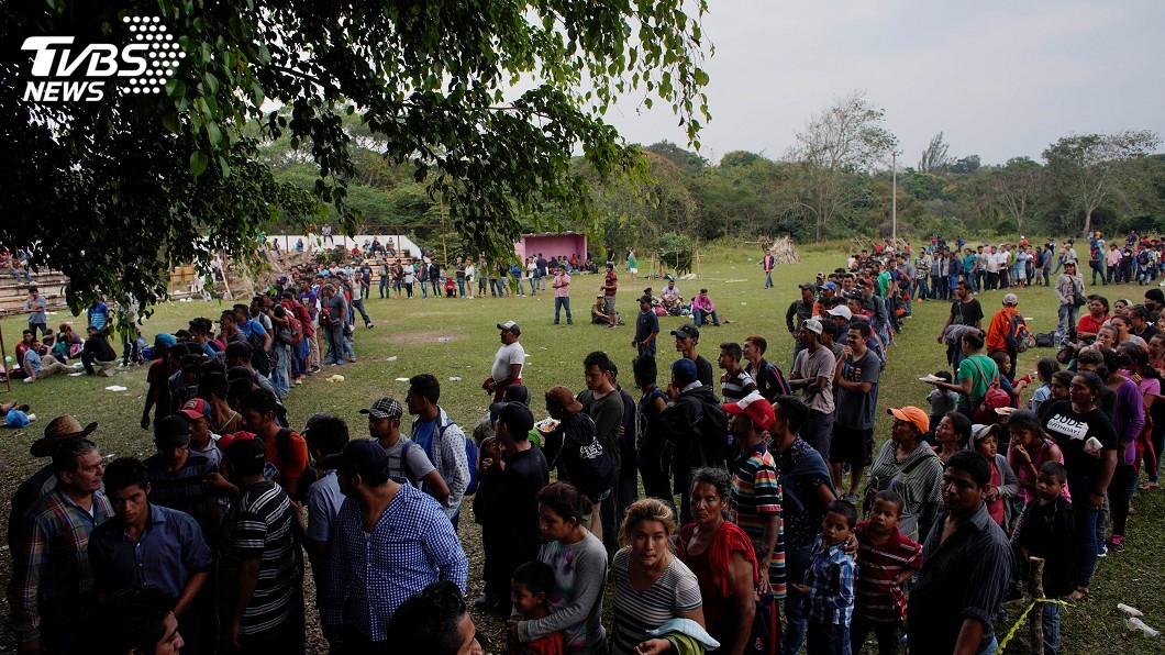 圖/達志影像路透社 川普堅持邊界築牆 教宗:恐懼移民讓人變瘋狂