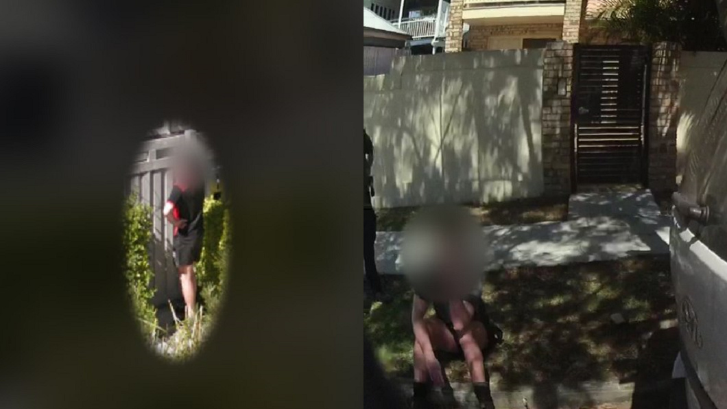 圖/翻攝自Queensland Police推特 噁男公然自瀆…警4年抓不到 Google街景竟神捕捉