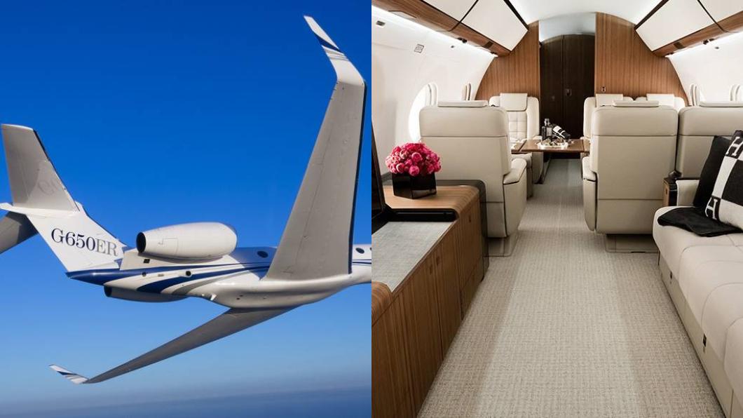 圖/翻攝自Gulfstream Aerospace官網 1架要21億!最頂級私人飛機 全台僅「這4人」擁有