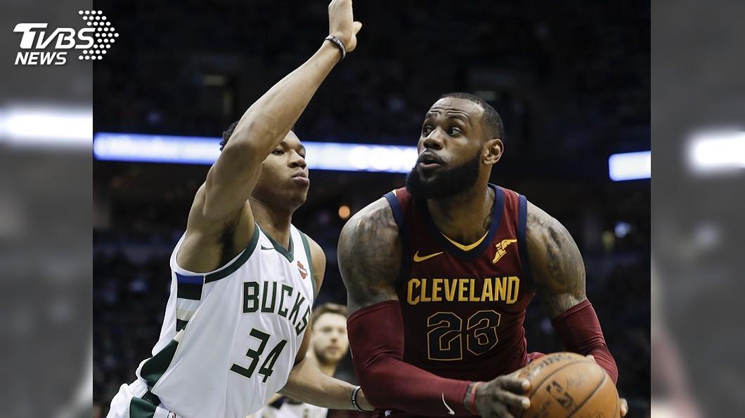 圖/達志影像美聯社資料畫面 NBA明星賽先發 詹姆斯與安特托昆博領銜