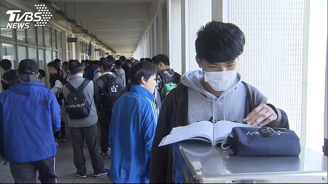 圖/TVBS 學測新增107年科目組合人數表 助選填志願比對