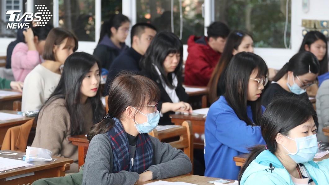 圖/中央社 著作入學測題作者有疑慮 大考中心:以後不採用