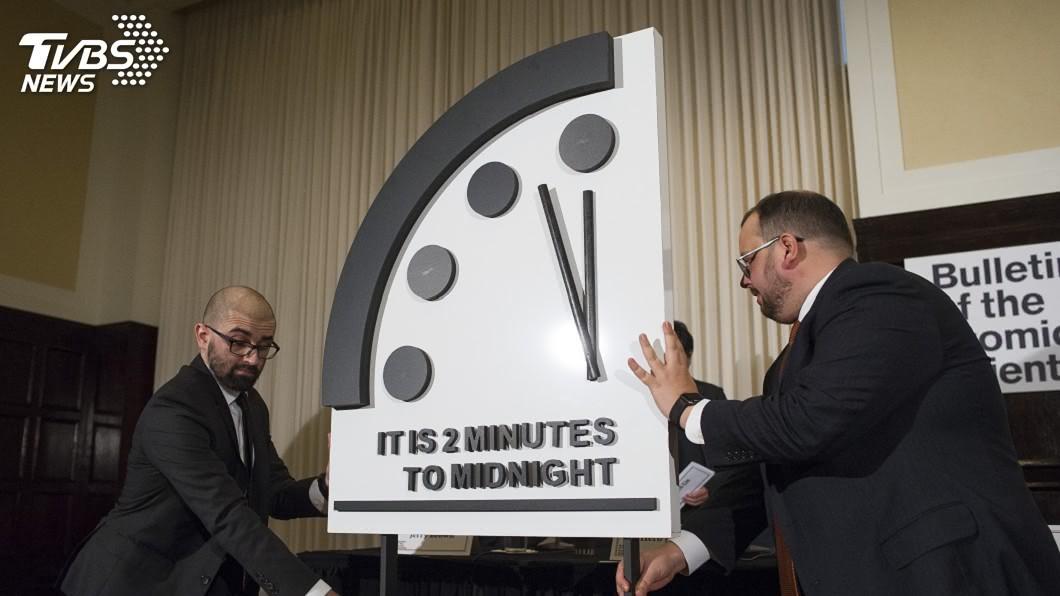 圖/達志影像美聯社 資訊戰危及文明社會 末日鐘倒數2分鐘