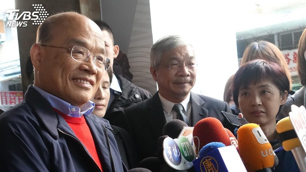 圖/中央社 加強防堵非洲豬瘟 蘇貞昌:不能放水打折扣