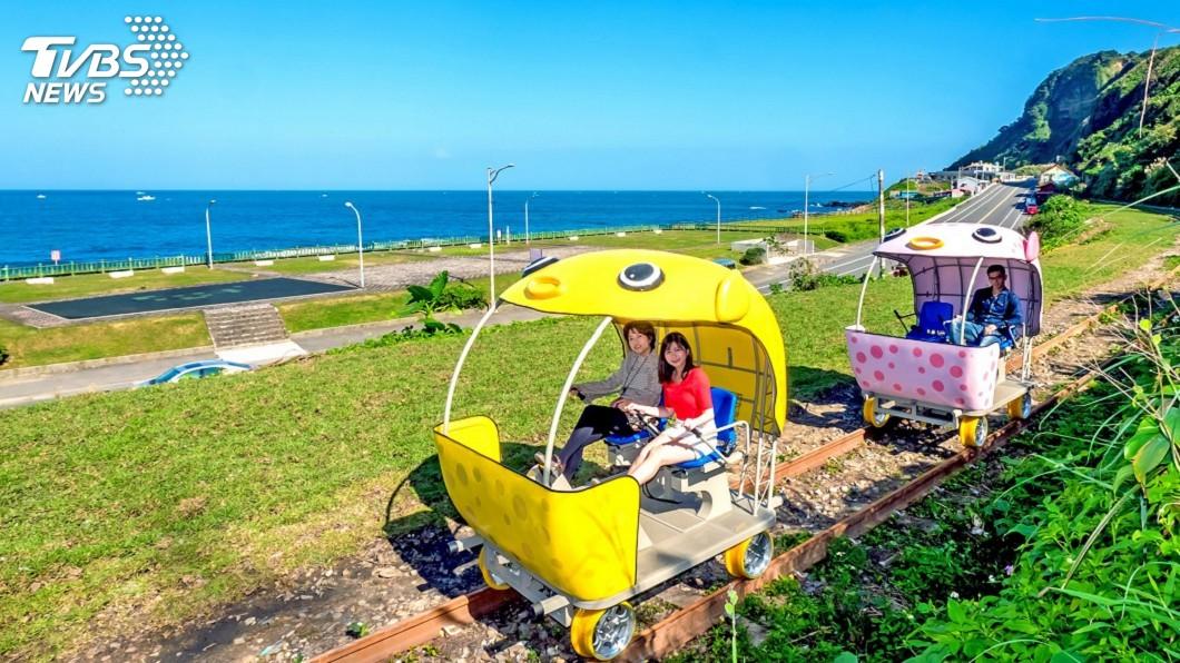 圖/中央社 深澳鐵道自行車 新北加碼延長優惠票