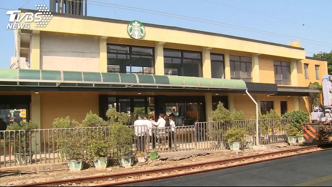 圖/TVBS 全台首間!火車站咖啡廳 新竹熱門打卡點