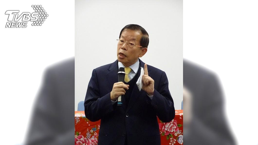 圖/中央社 拒在假消息羞辱下台 謝長廷堅決:除非總統叫我下台