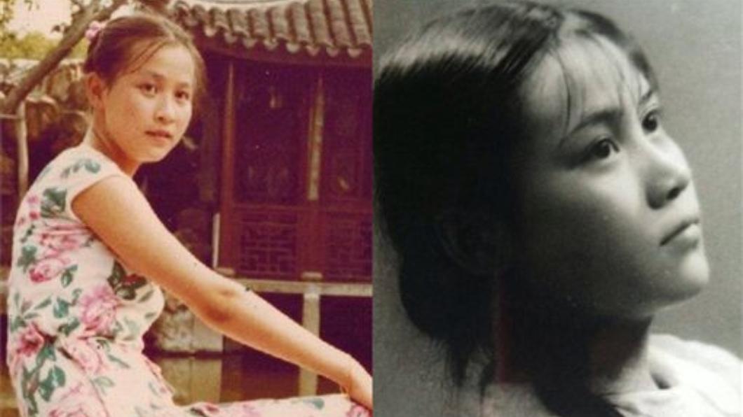 劉嘉玲少女時期(左)跟母親少女時期(右)宛如復刻版。翻攝/劉嘉玲、《熟悉的味道》微博