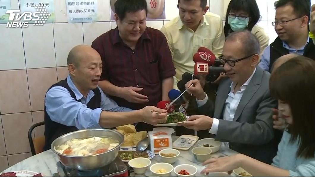 圖/TVBS 嗑牛肉鍋聞「其邁」!韓國瑜秒爆粗口 原因超哀怨