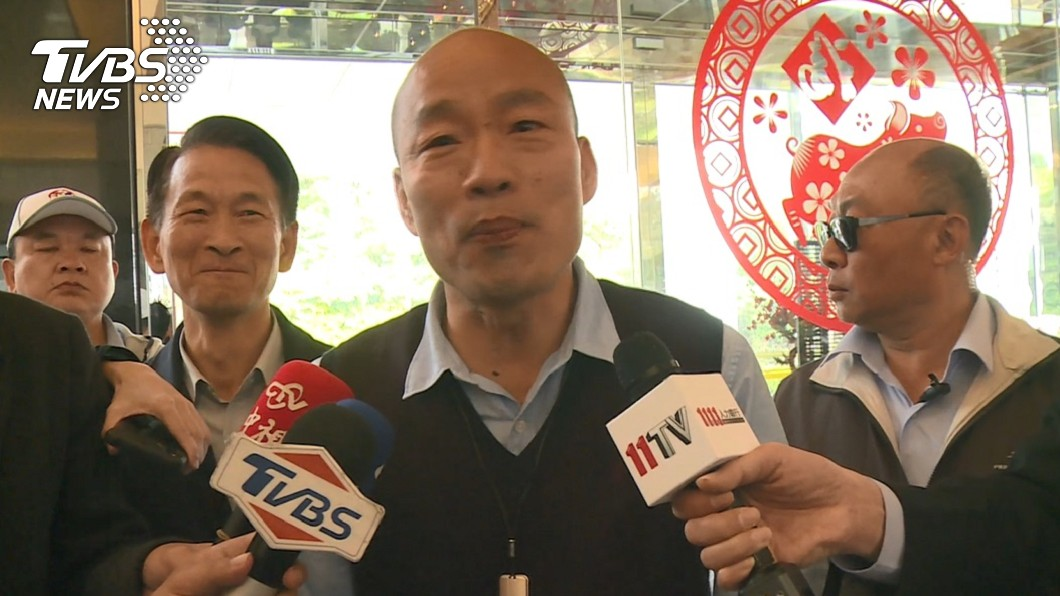 圖/TVBS 海霸王投資高雄80億 韓國瑜笑:南台灣蓋長城不會餓死