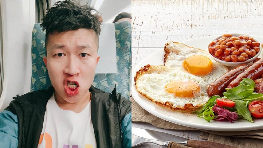 來自台中的張立東(左),對於台北物價差距超有感。圖/翻攝自張立東臉書、TVBS資料圖 北漂族辛酸 台中孩「最怕吃早午餐」:不去跟不上潮流