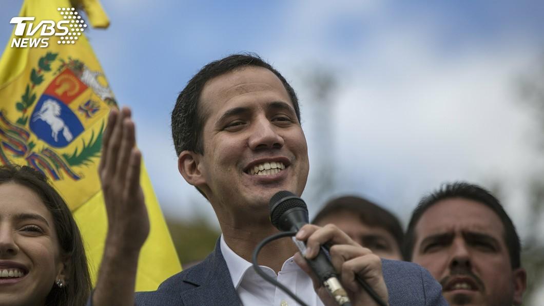 圖為委內瑞拉反對派領袖瓜伊多。圖/達志影像美聯社 保護委內瑞拉反對派領袖 美國安顧問提出警告