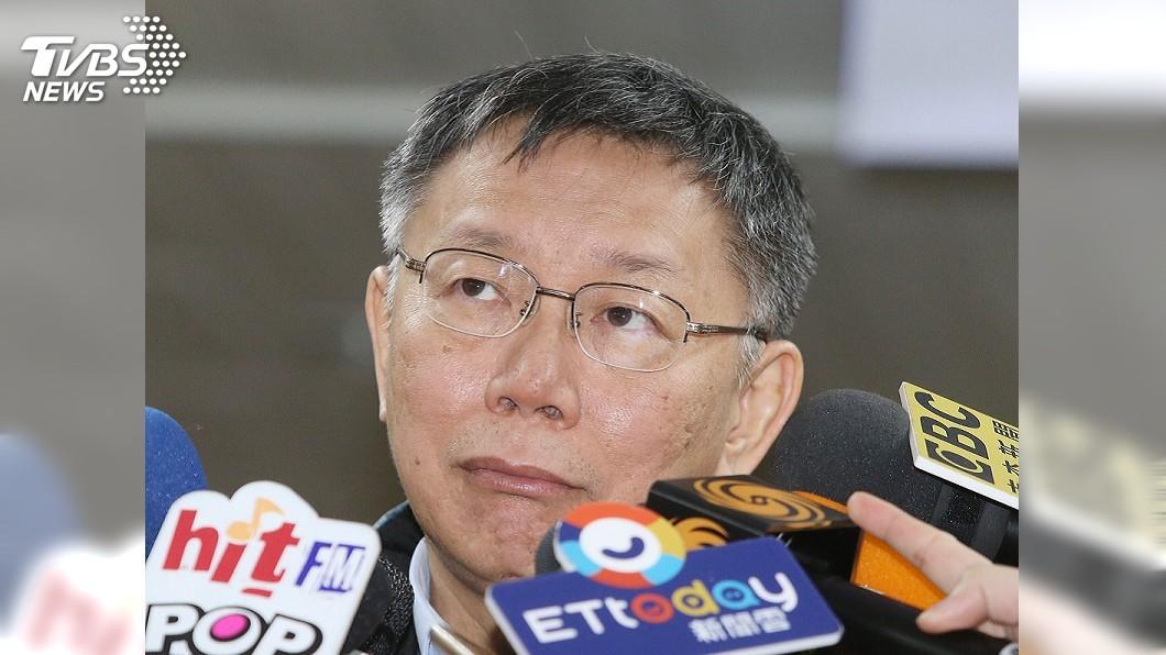 圖/中央社 陳思宇慘敗 柯文哲:看選前民調差不多就這樣