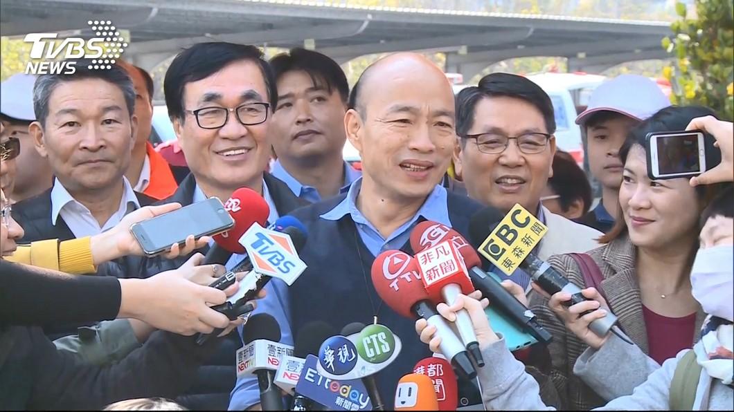 國民黨將邀請韓國瑜站台替立委補選候選人站台。圖/TVBS 靠「韓流」再衝一波 藍營將邀韓國瑜站台立委補選