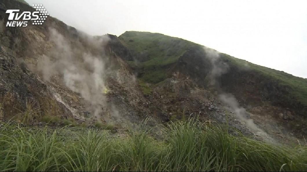 學者證實大屯火山群為一活火山。圖/TVBS 金山連2震!地下藏大屯火山「岩漿庫」 核電廠在附近