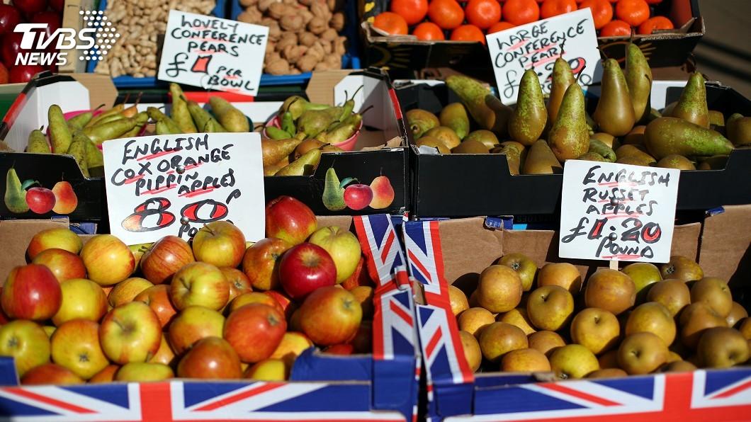 圖/達志影像路透社 英脫歐蔬果進口成本漲 心血管疾病死亡人數恐增