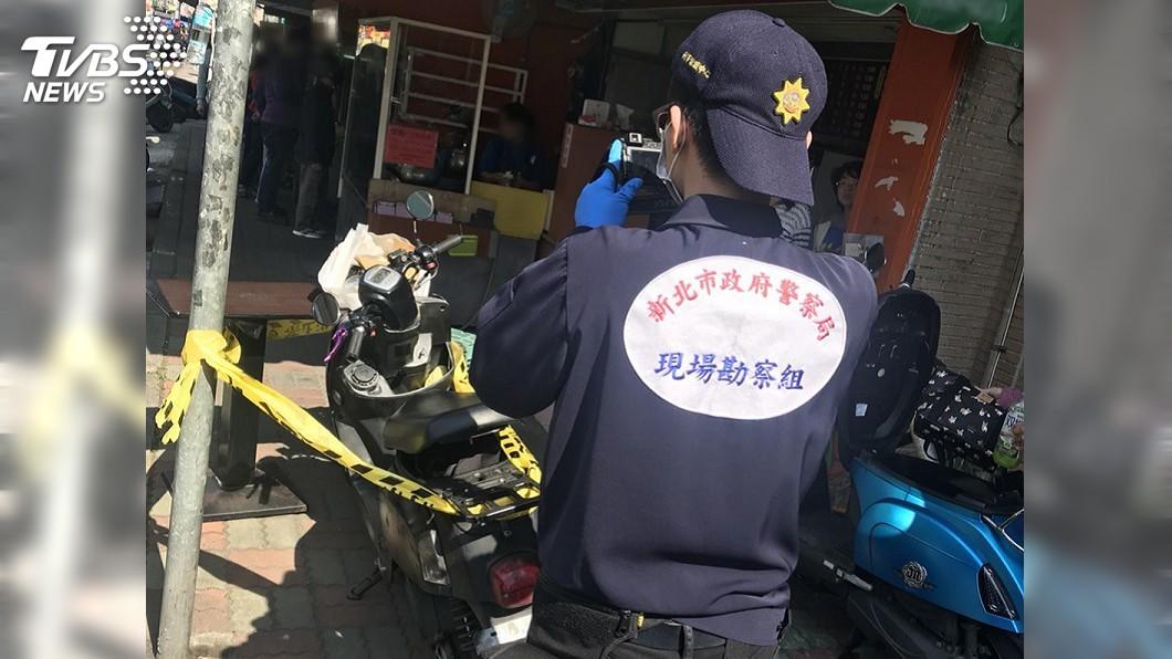圖/中央社 新莊街頭傳20餘槍響 勇警逮開槍男子