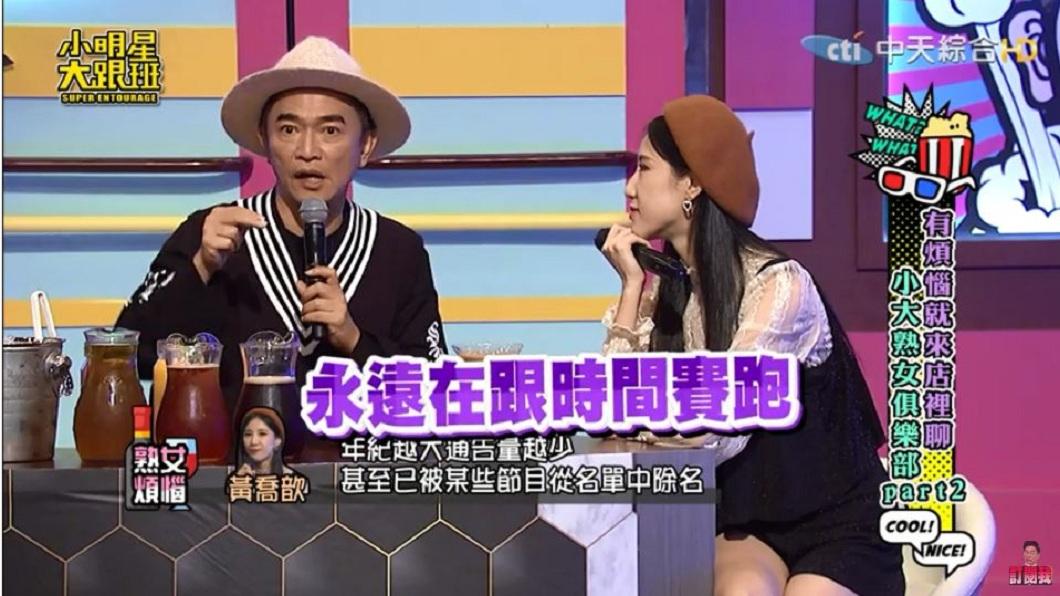 吳宗憲在節目上道出女星的現實面。(圖/翻攝自YouTube)