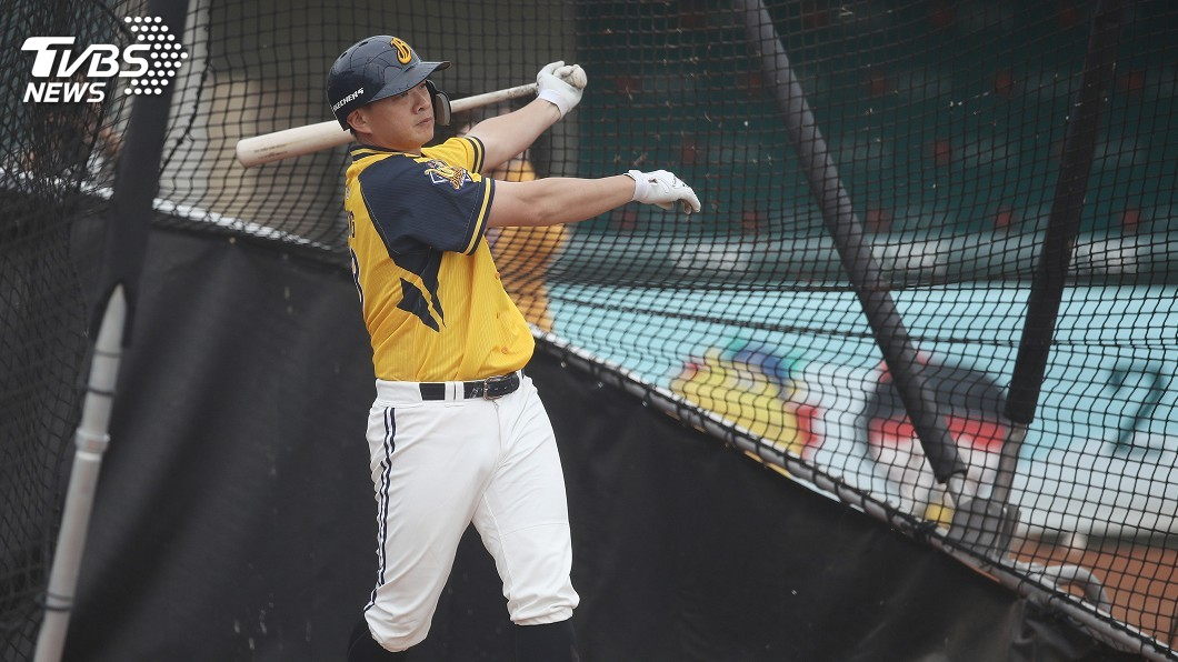 圖/中央社 「恰恰障礙」立下 打完整季將成中職第4老野手