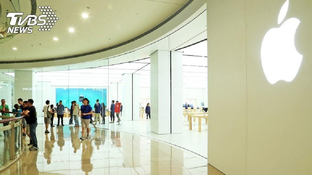 圖/中央社 Apple在台徵新人 傳第2間直營店將開幕